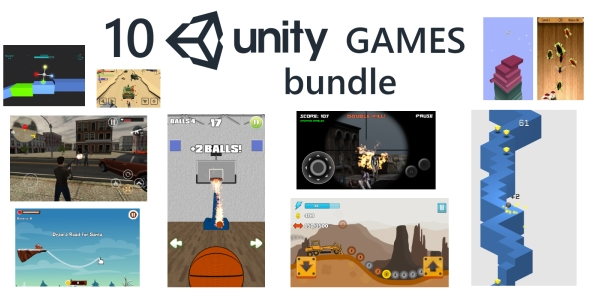 10 Unity Games Premium Bundle (with Admob ads) - CodeCanyon Item for Sale