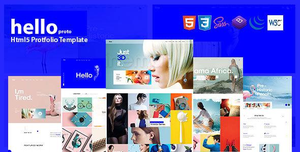 Hello Porto - Portfolio HTML Template