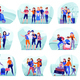 Travelers Compositions Set - GraphicRiver Item for Sale