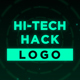 Hi-Tech Hack Logo Reveal - VideoHive Item for Sale