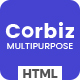 Corbiz - Multipurpose Business Consulting HTML Template - ThemeForest Item for Sale