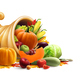 Cornucopia Full of Vegetables and Fruits - GraphicRiver Item for Sale