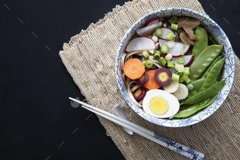 Tempting Udon Noodle Soup