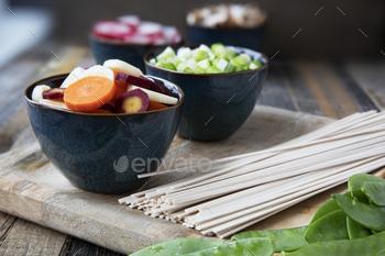Udon Noodle Soup Ingredients