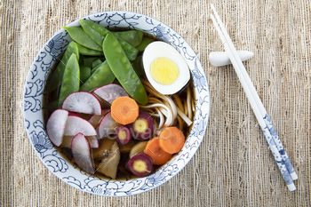Making Udon Soup Series: Image Eight of Nine