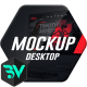 Mockup Desktop // Website Presentation - VideoHive Item for Sale