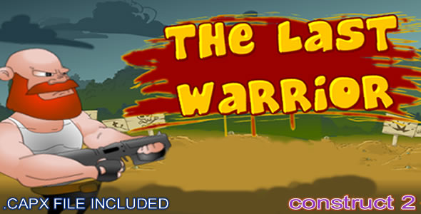 The Last Warrior - (C2, C3 HTML5) Game - CodeCanyon Item for Sale