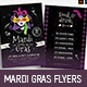 Traditional Mardi Gras Flyers - GraphicRiver Item for Sale