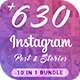 Fashion Instagram Bundle - GraphicRiver Item for Sale