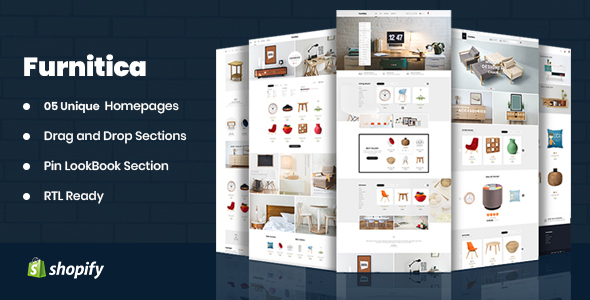 Furnitica - Minimalist Design Responsive Shopify Theme For Furniture, Decor, Interior
