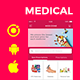 Medicine pharmaceutical ecommerce Android App + iOS App Template (HTML + CSS in IONIC 3 ) | Medizone - CodeCanyon Item for Sale