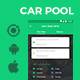 Car Pooling Android App + Car Pooling iOS App | Template (HTML + CSS in IONIC 3) | Vroom - CodeCanyon Item for Sale