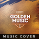 Golden Music - Music Album Cover Artwork - GraphicRiver Item for Sale
