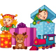 Christmas Elves - GraphicRiver Item for Sale
