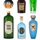 Realistic Poison Icon Set - GraphicRiver Item for Sale