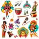 Carnival Brasil Set - GraphicRiver Item for Sale
