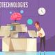 Nanotechnologies Vector Illustration - GraphicRiver Item for Sale