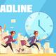 Deadline Vector Illustration - GraphicRiver Item for Sale