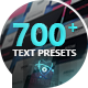Text Presets | Atom - VideoHive Item for Sale