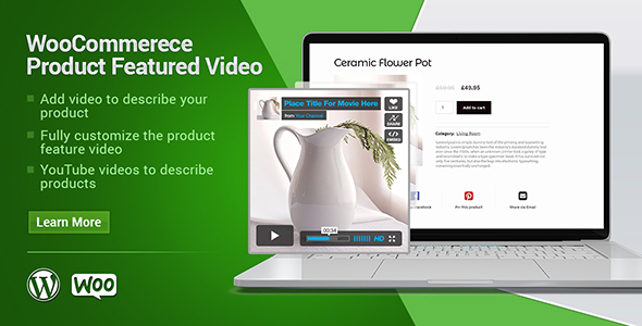 Woocommerce Product Featured Video - CodeCanyon Item for Sale