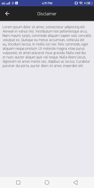 React native Parallax UI | Scroll view