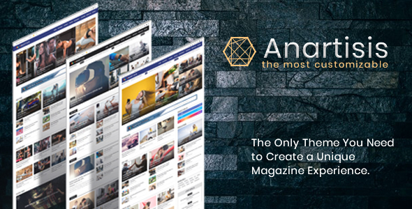 Anartisis - News & Magazine Blogger Theme