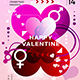 Happy Valentine Flyer Template - GraphicRiver Item for Sale