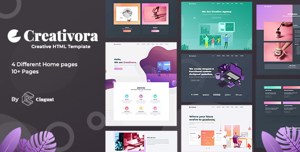 Creativora - Creative Template For Agency And Portfolio