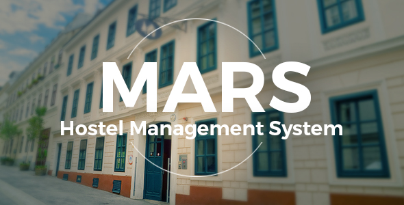 Mars | Hostel Management System - CodeCanyon Item for Sale