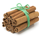 Bunch of cinnamon sticks with agreen cord - PhotoDune Item for Sale