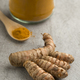 Fresh raw turmeric rhizome and powder - PhotoDune Item for Sale