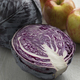 Fresh whole and half raw red cabbage - PhotoDune Item for Sale