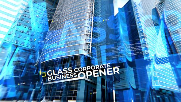 Glass Corporate Business Opener