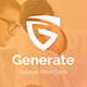 Generate Solutions Pitch Deck Powerpoint Template - GraphicRiver Item for Sale