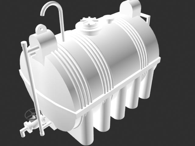 Horizontal Storage Tank 3000 l