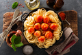 Spaghetti with tomato sauce and meatballs - PhotoDune Item for Sale