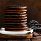 Stack of chocolate pancakes - PhotoDune Item for Sale