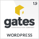 Gates - Construction, Building Business WP - ThemeForest Item for Sale