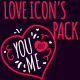 Valentine's Icons Pack - VideoHive Item for Sale