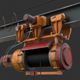 Portable Gantry Crane - 3DOcean Item for Sale