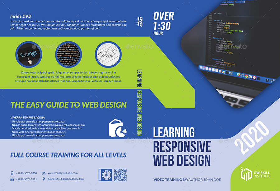 Training Course DVD Template Vol 3