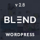 Blend - Multi-Purpose Responsive WordPress Theme - ThemeForest Item for Sale