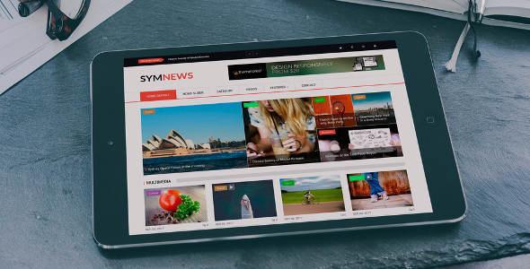 SymNews - News & Magazine Drupal 8 Theme - News / Editorial Blog / Magazine