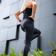 Active Woman Doing Step Workout Outdoor in the City - PhotoDune Item for Sale
