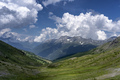 Mountain landscape along the road to Colle dell'Assietta - PhotoDune Item for Sale
