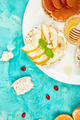 Easy breakfast concept.  Rice Crisp bread healthy snack - PhotoDune Item for Sale
