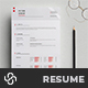 Swiss Resume Template - GraphicRiver Item for Sale