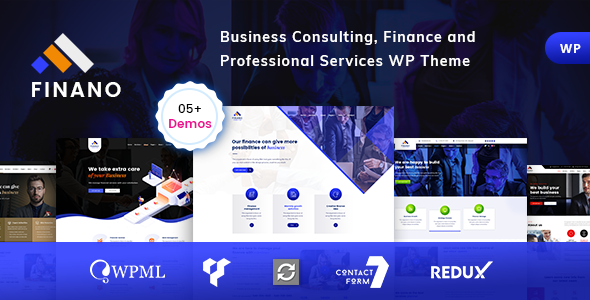 Consulting – Finance Consulting WordPress Free Download