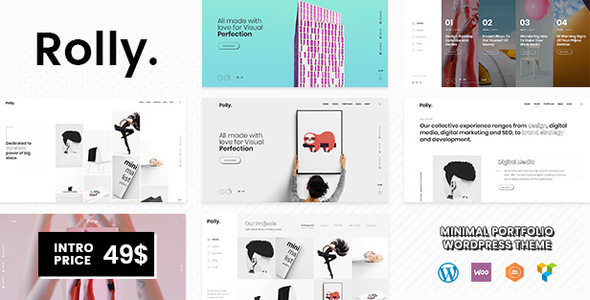 Rolly | A Contemporary Portfolio WordPress Theme - Portfolio Creative