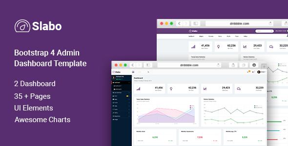 Incredible Slabo - Bootstrap Admin Dashboard Template